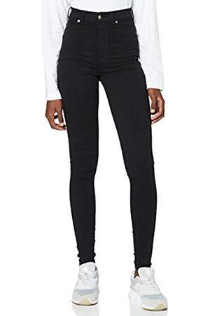 Dr Denim Damen Cropped - Damen Solitaire Jeans, Black