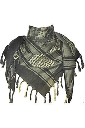 Explore Land Herren Schals - Shemagh-Tuch, Wickelschal, 100 % Baumwolle, Militärdesign