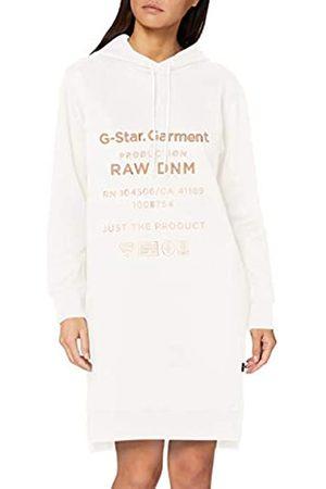 G-Star Damen Freizeitkleider - Damen Casual Dress Graphic Text Boyfriend Hooded