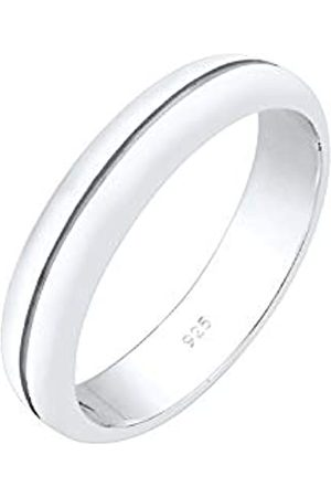 Elli Elli PREMIUM Ring Damen Bandring Trauring Basic Hochzeit Paar in 925 Sterling