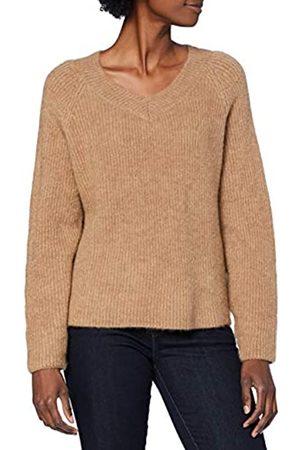 Herrlicher Damen Lione Structured Wool Pullover