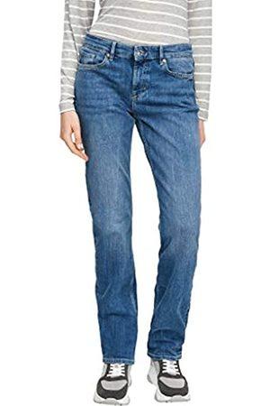 s.Oliver Damen Regular Fit: Straight Leg-Jeans 44.30