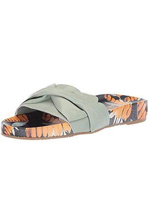KAANAS Women's GALERA Printed Pool Slide with Bow Fashion Sandal
