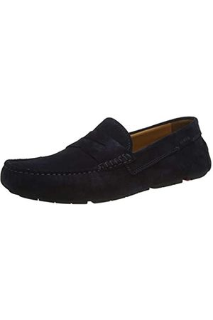 Lloyd LLOYD Herren Slipper ELJOS, Männer SlipperMokassins,VARIOFOOTBED, schlupfhalbschuh Slip-on College Loafer businessschuh Herren,Navy