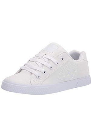DC Damen Chelsea Low Top Casual Skate Schuh, (superweiß)