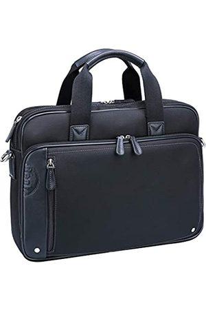 Ronts Ronts Laptoptasche für Damen und Herren, aus Leder, Schultertasche, wasserabweisend