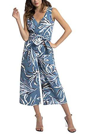 Apart APART Damen Overall Bedruckt mit stilisierten Blüten