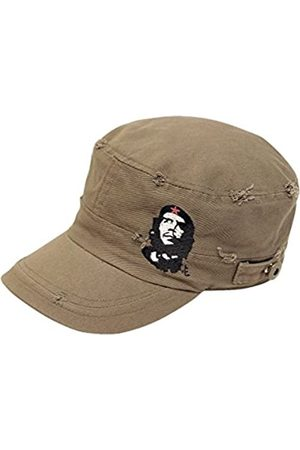 Che Guevara Store The Distressed Military Cap – – w/emb Che & Star – Medium