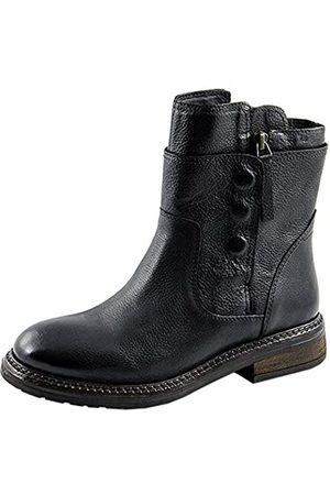Marc Damen Leni Biker Boots, (Cow Milled Black 00806)