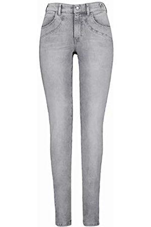 GINA LAURA GINA LAURA Damen Jeans Jette, extrabreiter Bund, schmale Form