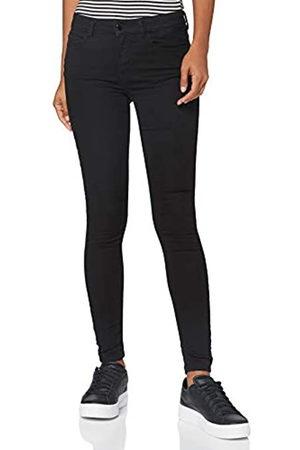 JDY Damen NEWNIKKI Life REG SKN BLK DNM NOOS Jeans, Black Denim