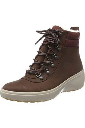Ecco ECCO Damen Soft 7 Wedge Tred ChocolateChocolate Ankle Boot, Braun (Chocolate/Chocolate)