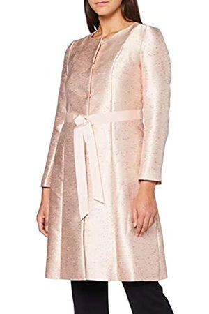 Apart Damen Jacquard Coat Mantelkleid