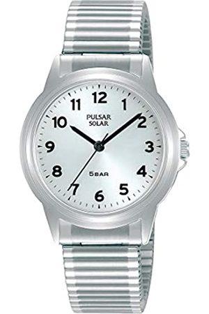 Pulsar Pulsar Solar Damen-Uhr Edelstahl mit Metallband PY5075X1