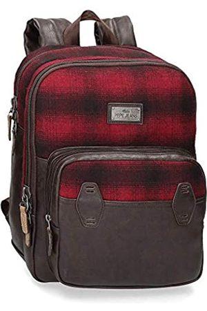 Pepe Jeans Pepe Jeans Scotch Laptop-Rucksack 27x36x12 cms Polyester und PU 13