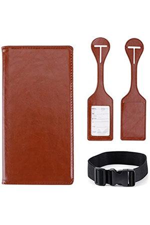 SMITHSURSEEE BAG Reisepasshülle aus Leder für Damen und Herren