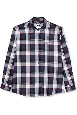 Pierre Cardin Herren Langarm Hemd mit Button-Down-Kragen