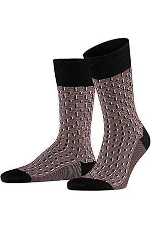 Falke Herren Socken Strap Boundary, Baumwollmischung, 1 Paar