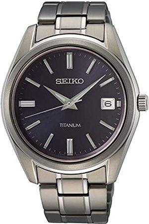 Seiko Seiko Herren Analog Quarz Uhr mit Metall Armband SUR373P1