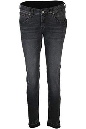 Herrlicher Damen Cropped Denim Black Cashmere Touch Jeans