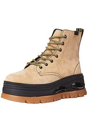Coolway Damen Combat Boot, Beige (Snd)