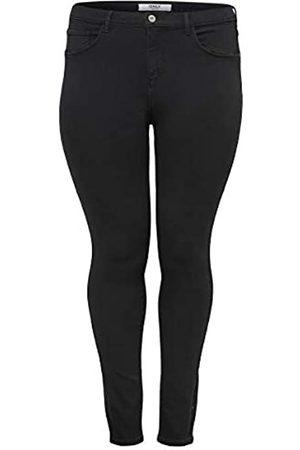 Carmakoma Female Skinny Fit Jeans Curvy CARStorm Push hw 50Black