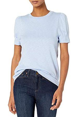 Daily Ritual Cotton Modal Stretch Slub Puff Sleeve Fashion-t-Shirts