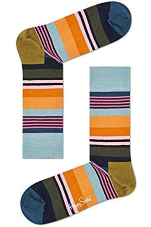 Happy Socks Unisex Freizeitsocken Multi Stripe Sock