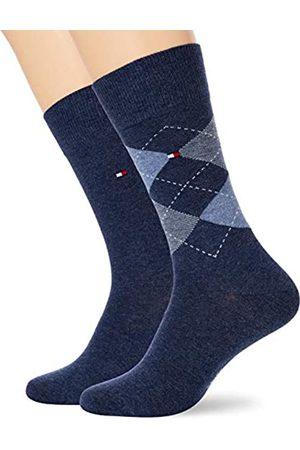 Tommy Hilfiger Herren Socken (2er Pack), (Blue)