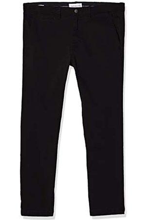 Calvin Klein Herren 016 Skinny Washed Stretch Chino Hose, Black