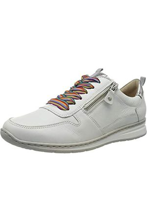 ARA Ara Damen SAPPORO Sneaker, (Weiss, Silber 78)
