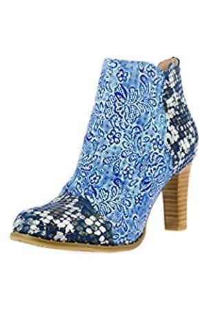 LAURA VITA Damen ALCBANEO 199 Stiefeletten, (Bleu Bleu)