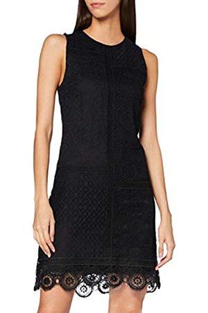 Desigual Damen Freizeitkleider - Womens Vest_Madrid Casual Dress, Black
