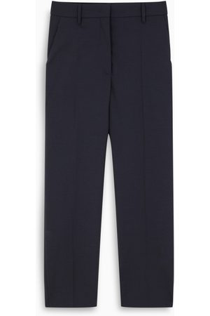 Prada Blue slim trousers