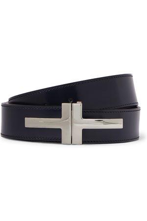 Tom Ford 3cm Polished-Leather Belt