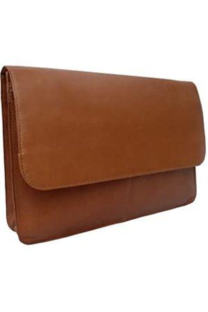 Piel Piel Leather Dreiteiliges Klappbares Portfolio in