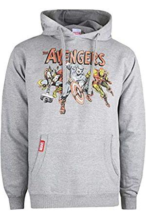 Marvel Marvel Herren Vintage Avengers Hoodie Kapuzenpullover