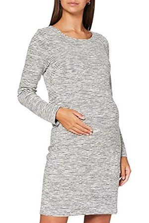 Noppies Damen Kleider - Damen Dress ls Silje Kleid, Marshmallow-P157
