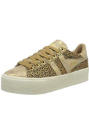 Gola Damen Orchid Platform Savanna Sneaker, Tan/