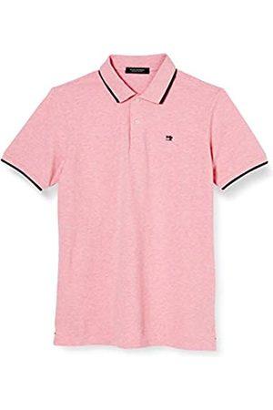 Scotch&Soda Scotch & Soda Herren Meliert Baumwoll-Piqué Poloshirt