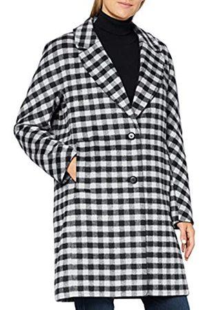 Bugatti Damen Westen - Damen 662400-64011-290 Wollmischungs-Mantel