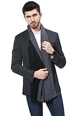 FULLRON Herren Schals - Herren Winter Kaschmir Schal Weich Warm Lange Schals - - Large