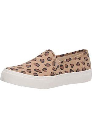 Keds Damen Double Decker Turnschuh, Leopard Tan/