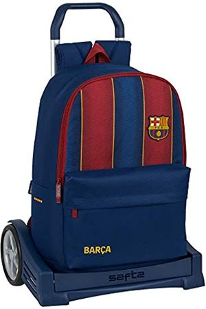 Safta Safta Evolution Schulrucksack mit Trolley, inklusive FC Barcelona 20/21