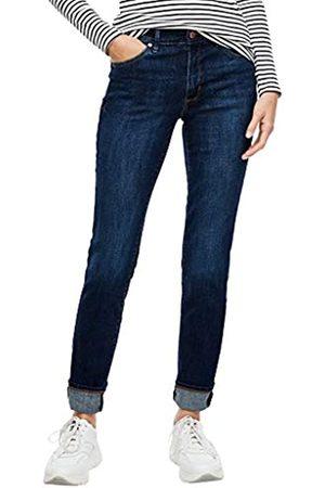 s.Oliver S.Oliver Damen Slim Fit: Slim leg-Jeans dark blue 34.32