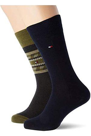 Tommy Hilfiger Mens TH 2P Fairisle Socks