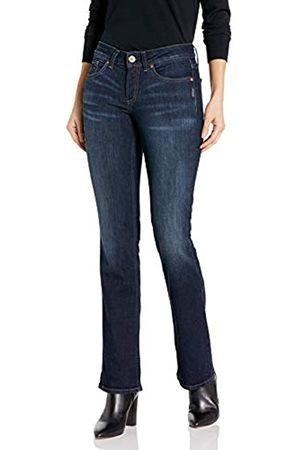 Silver Silver Jeans Co. Damen Suki Curvy Fit Mid Rise Slim Bootcut Jeans
