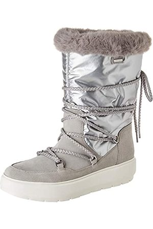 Geox Geox Damen D Kaula B ABX C Snow Boot, Lt Grey/Silver
