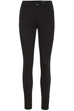 Vero Moda VERO MODA Female Slim Fit Jeans Vmseven Cropped Normal Waist XS30Black