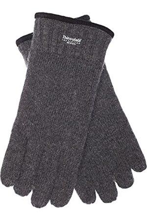EEM Fashion EEM Herren Strick Handschuhe FYNN mit Thinsulate Thermofutter aus Polyester, Strickmaterial aus 100% Wolle; anthrazit